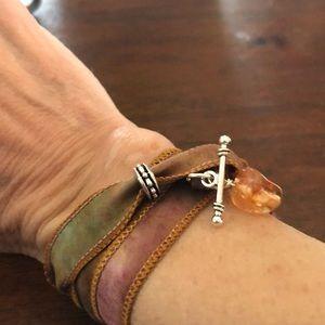 Jewelry - Silk Wrap Bracelet